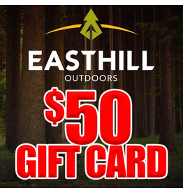 EASTHILL OUTDOORS EASTHILL OUTDOORS $50 GIFT CARD