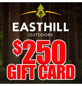 EASTHILL OUTDOORS EASTHILL OUTDOORS $250 GIFT CARD