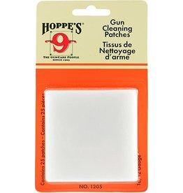 Hoppe's HOPPE'S NO. 9 GUN CLEANING PATCHES 16/12 GAUGE 25 PK