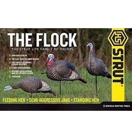 HUNTERS SPECIALTIES HS STRUT LITE FLOCK FAMILY OF DECOYS