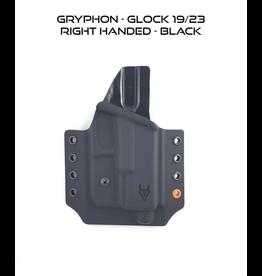 GRYPHON GRYPHON GLOCK 19/23 RH BLK
