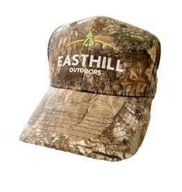 EASTHILL OUTDOOR CAP CAMO EASTHILL HAT DARK BROWN
