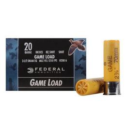 "Federal FEDERAL GAME LOAD 20GA 2.75"" 7.5 SHOT 25 RDS"