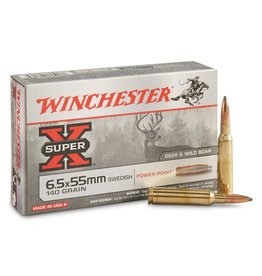 WINCHESTER WINCHESTER 6.5x55 SWED 140GR POWER POINT
