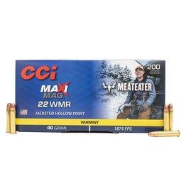 CCI CCI MAXI MAG MEATEATER 22 WMR JHP VARMIT 40 GR