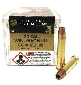 Federal FEDERAL V SHOK .22 CAL WIN MAGNUM 30 GR 50 RDS