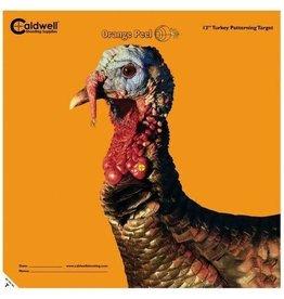 "CALDWELL CALDWELL ORANGE PEEL TURKEY TARGET 12"""