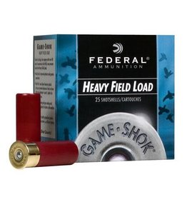 "Federal FEDERAL HEAVY FIELD LOAD 28 GA 2.75"" 1 OZ #6 GAME SHOK 25 RDS"
