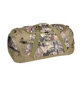 HQ OUTFITTERS HQ OUTFITTERS CARGO DUFFEL BAG MOSSY OAK