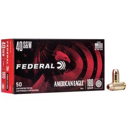 Federal FEDERAL AMMUNITION 40 S&W 180GR FMJ 50 RDS