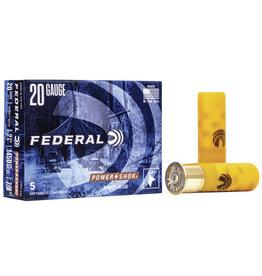 "Federal FEDERAL 20GA 2 3/4"" MUZ 7/8 SABOT 5 RDS"