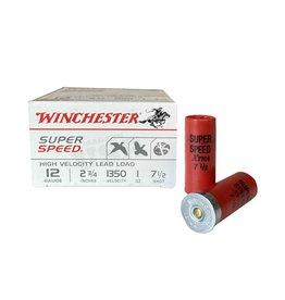 "WINCHESTER WINCHESTER SUPER SPEED 12GA 2 3/4"" #7 1/2 - 25 RDS"