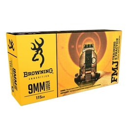 BROWNING BROWNING 9MM 115GR FMJ