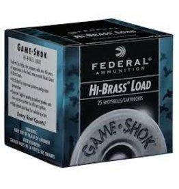 """Federal FEDERAL HI-BRASS LOAD .410 2 1/2""""  7 .5 SHOT"""