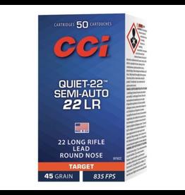 CCI CCI QUIET 22 LR SEMI-AUTO 45GR 50 RDS
