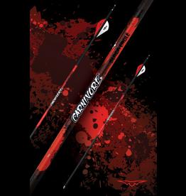 "BLACK EAGLE BLACK EAGLE CARNIVORE FLETCHED ARROWS .001"""