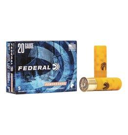 "Federal FEDERAL 20GA 2 3/4"" BUCKSHOT 3 BUCK"