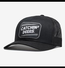CATCHIN' DEERS CATCHIN' DEERS RETRO PATCH ON BLACK
