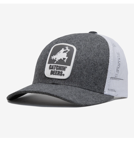 CATCHIN' DEERS CATCHIN' DEERS PVC GIDDY UP HAT ON GRAY
