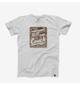 CATCHIN' DEERS CATCHIN' DEERS CAN'T KILL EM ON THE COUCH TEE
