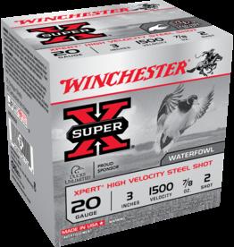 """WINCHESTER WINCHESTER EXPERT 20GA 3"""" 7/8OZ #2 STEEL 25 SHELLS"""