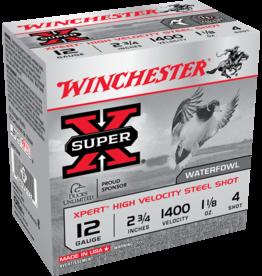 """WINCHESTER WINCHESTER SUPER X 12GA 2 3/4"""" 1 1/8 OZ 1400 25 RDS"""