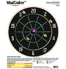 CHAMPION CHAMPION VISICOLOR DARTBOARD TARGET