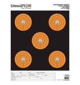 CHAMPION CHAMPION SCORE KEEPER TARGET 12PK