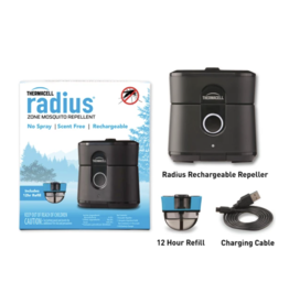 THERMACELL THERMACELL RADIUS ZONE MOSQUITO REPELLER