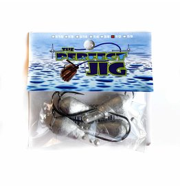 THE PERFECT JIG THE PERFECT JIG GOBY TUBE HEAD W/ RATTLE