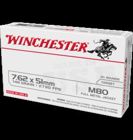 WINCHESTER WINCHESTER M80 7.62X51 NATO 20 RNDS