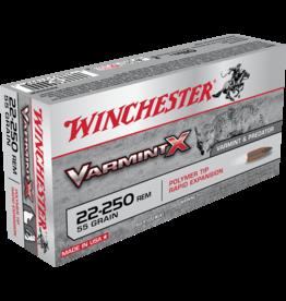 WINCHESTER WINCHESTER 22-250 REM. VARMINT X 55GR POLYMER TIP 20 RDS