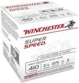 """WINCHESTER WINCHESTER .410 2-1/2"""" 1/2 OZ #6 25 RDS"""