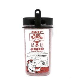 DAISY DAISY BULLS EYE RED RYDER BB'S SHOT .177 CAL 4000 CT