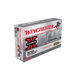 WINCHESTER WINCHESTER SUPER X 308 180GR POWER POINT 20 RDS