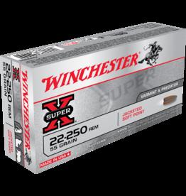 WINCHESTER WINCHESTER SUPER X 22-250 REM 55 GR 20 RDS