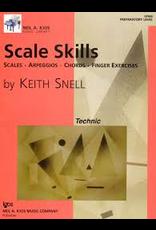 Kjos Scale Skills, Preparatory Level