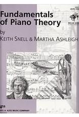 Kjos Fundamentals of Piano Theory, Level 1 Keith Snell