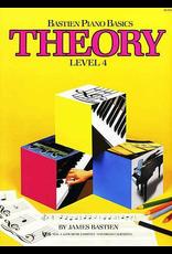 Kjos Bastien Piano Basics Theory Level 4 *