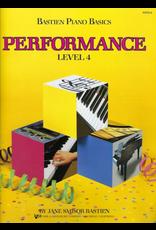 Kjos Bastien Piano Basics Performance Level 4 *