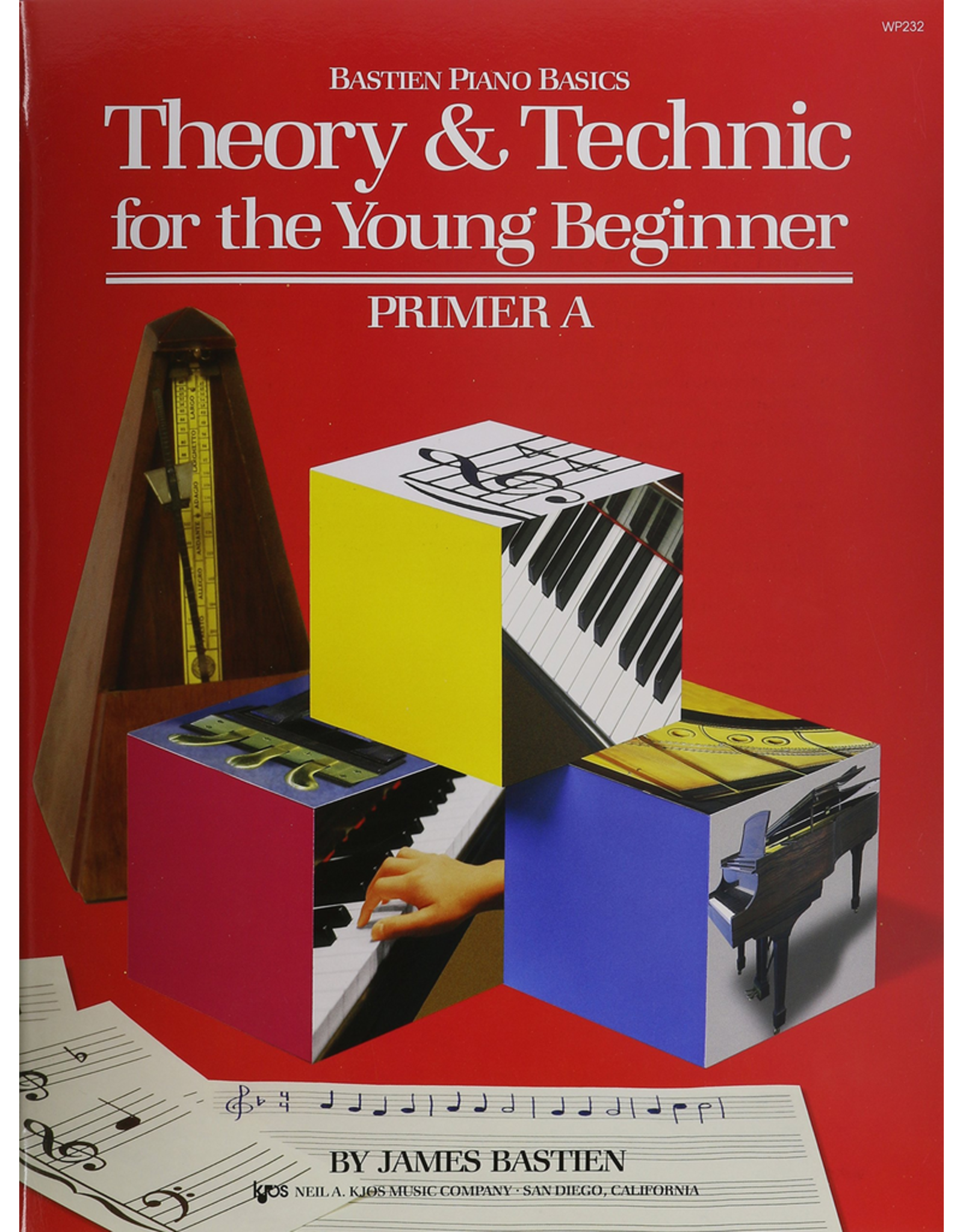 Kjos Bastien Piano Basics Theory & Technic for the Young Beginner Primer A