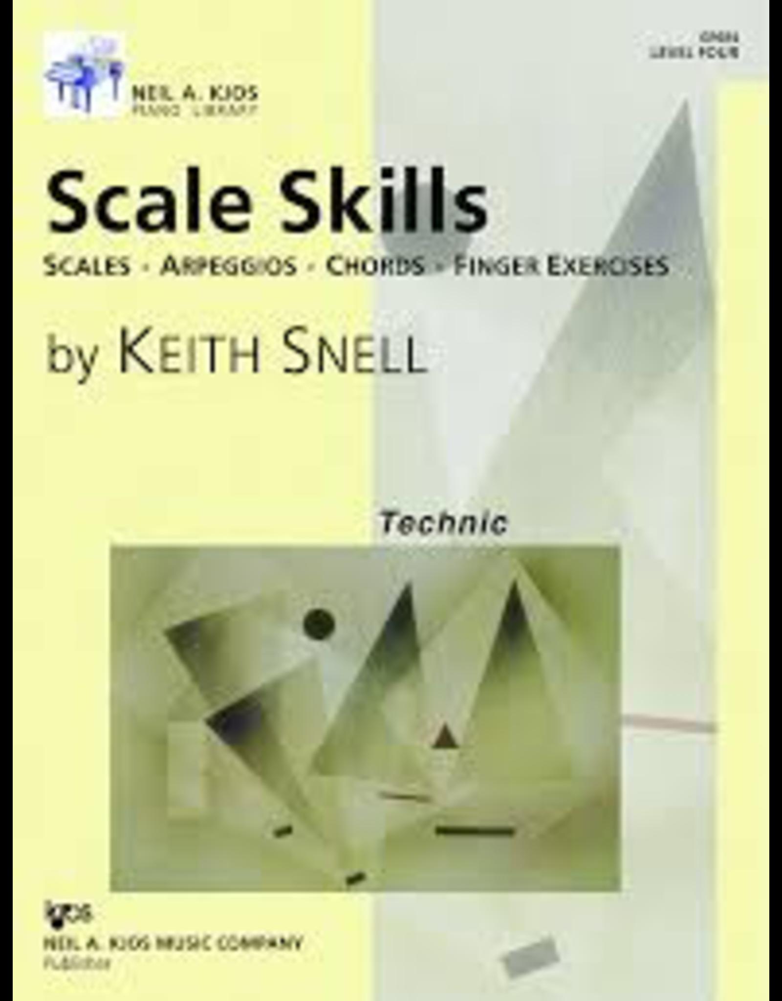 Kjos Scale Skills, Level 4