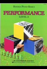 Kjos Bastien Piano Basics Performance Level 3 *