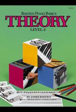Kjos Bastien Piano Basics Theory Level 3 *