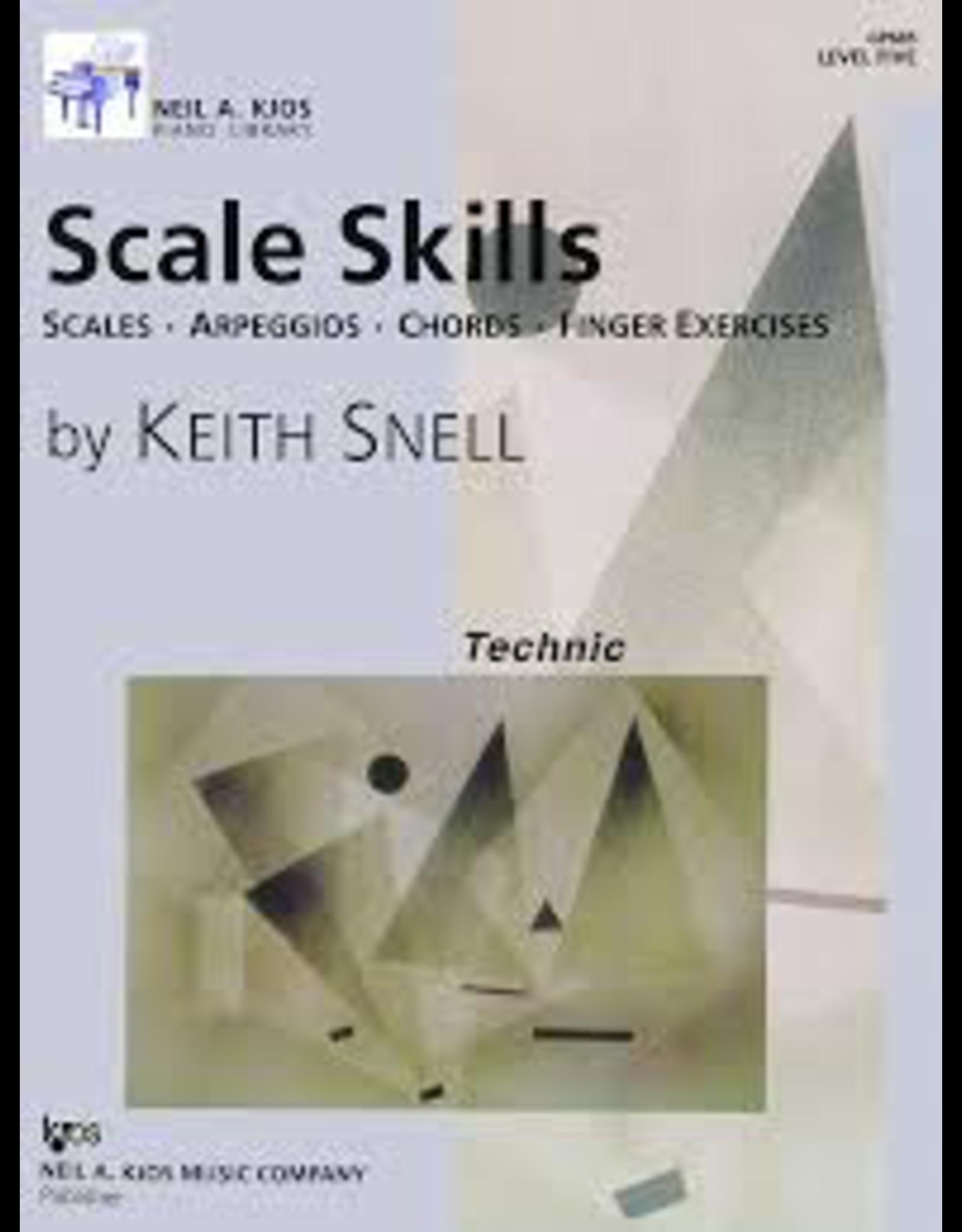 Kjos Scale Skills, Level 5