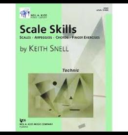 Kjos Scale Skills, Level 3