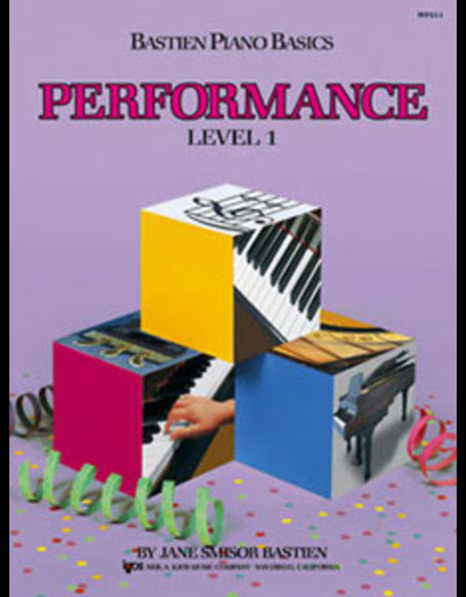 Kjos Bastien Piano Basics Performance Level 1 *