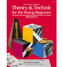 Kjos Bastien Piano Basics Theory & Technic for the Young Beginner Primer B