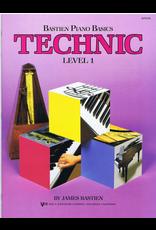 Kjos Bastien Piano Basics Technic Level 1 *