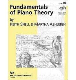 Kjos Fundamentals of Piano Theory, Level 4 Keith Snell